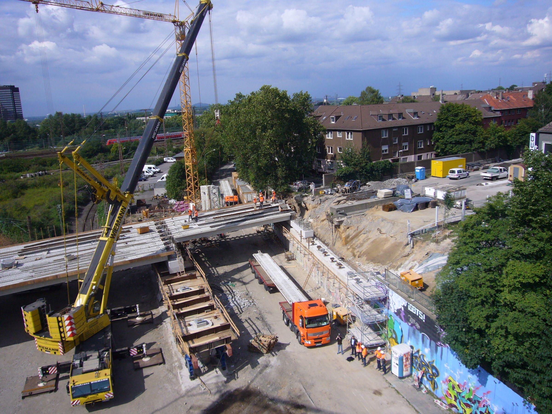 Baustelle B9 Koblenz
